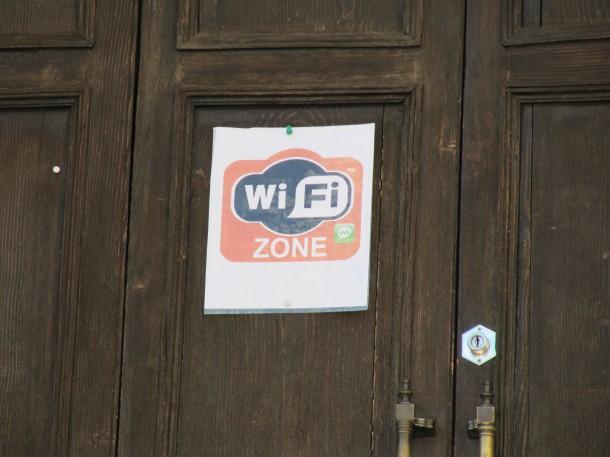 Wifi aan het Gardameer