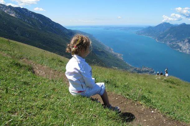 Panorama Monte Baldo Gardameer