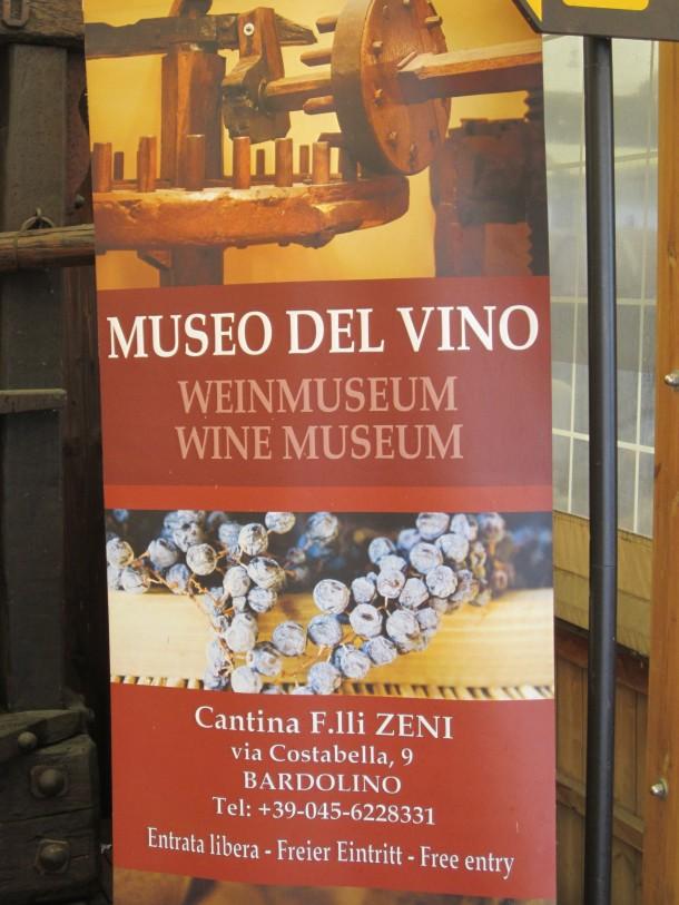 Wijnmuseum Gardameer
