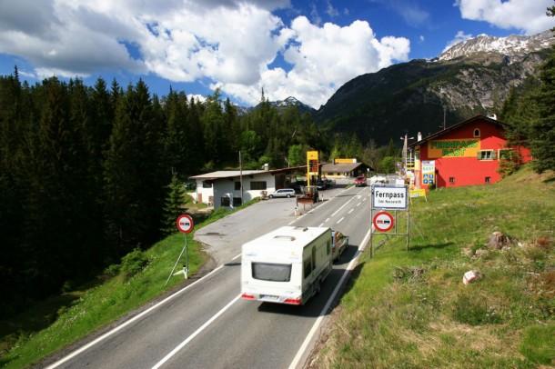 Fernpass caravan
