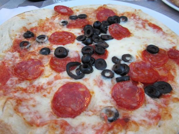 Beste pizza Gardameer