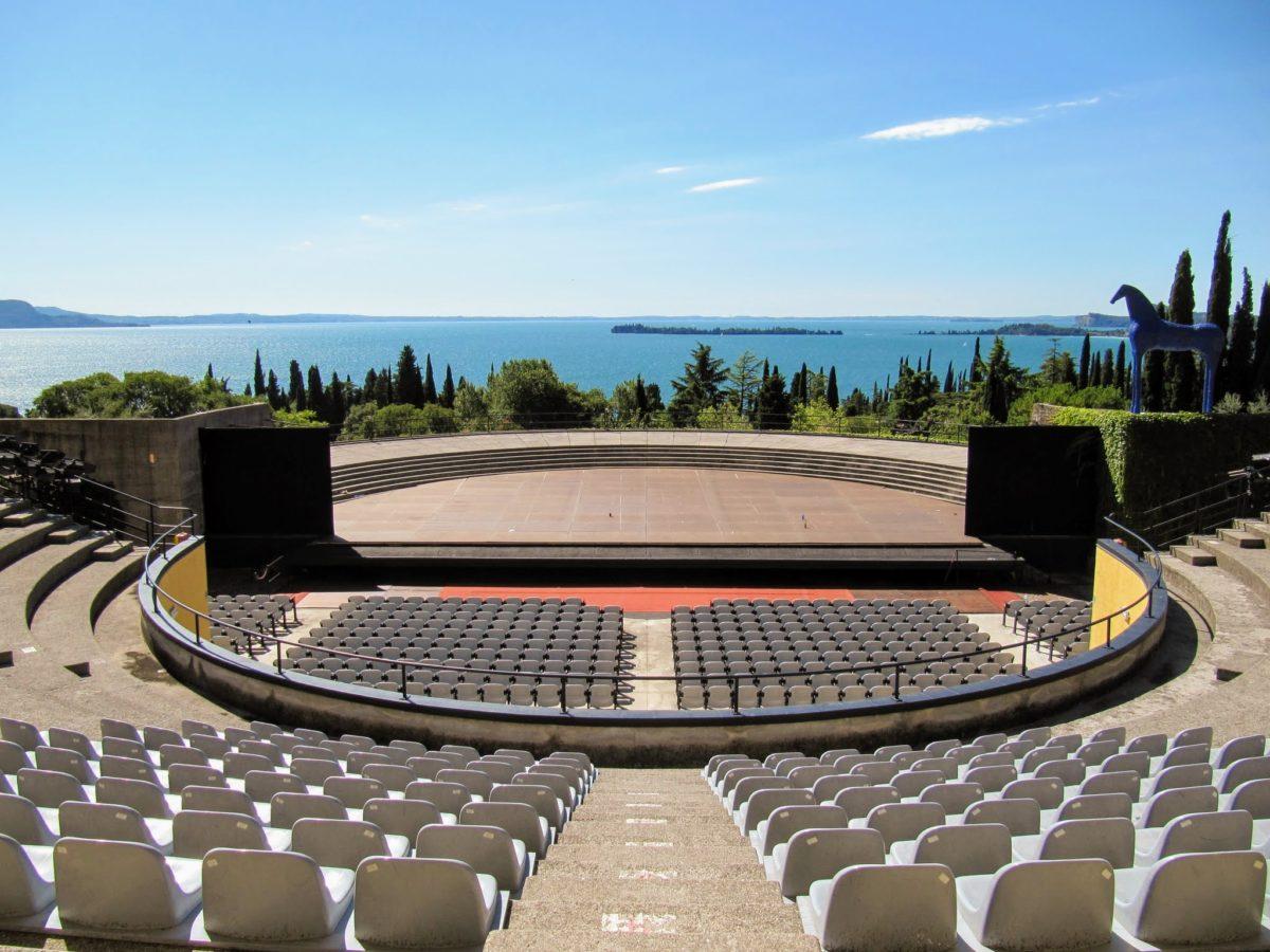 Openluchttheater Gardameer