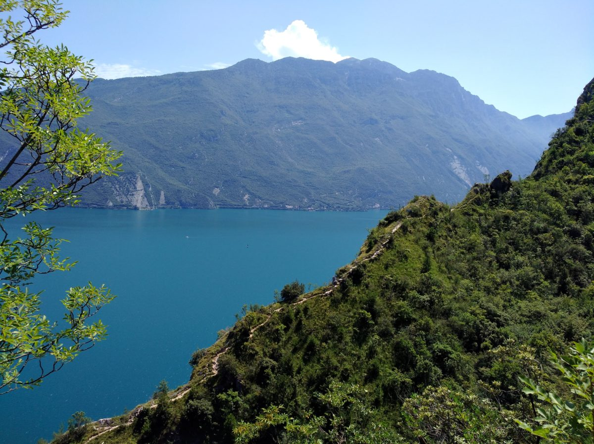 Wandeling van Riva del Garda naar Regina Mundi