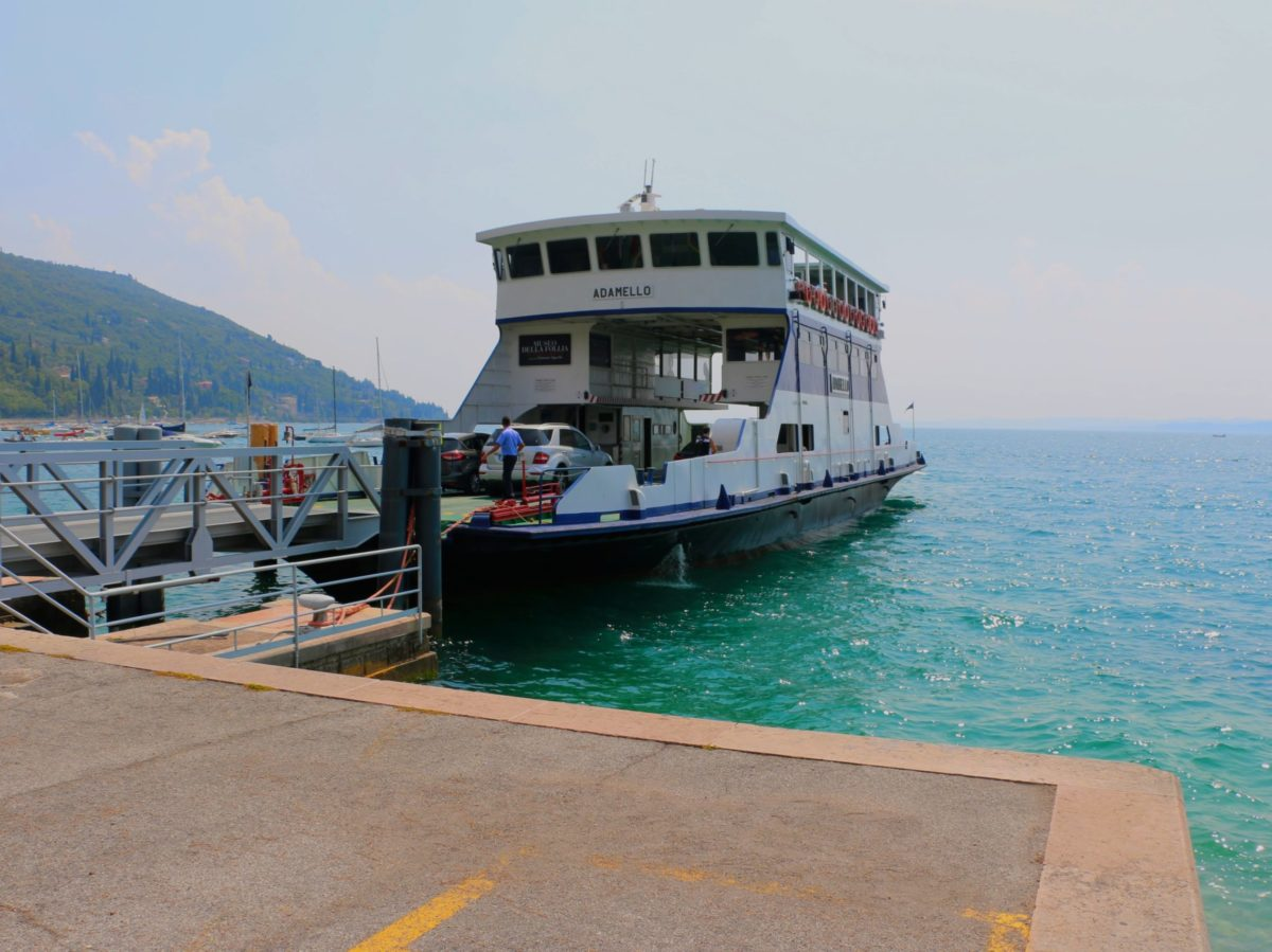 Veerboot Gardameer